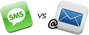 SMS Text Marketing vs. Email Marketing