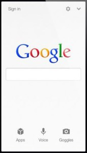 mobile search, mobile website